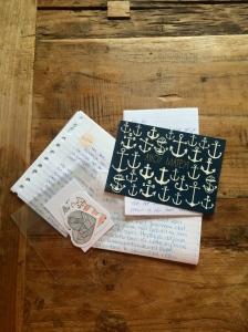 Enkele van de brieven die ik kreeg.
